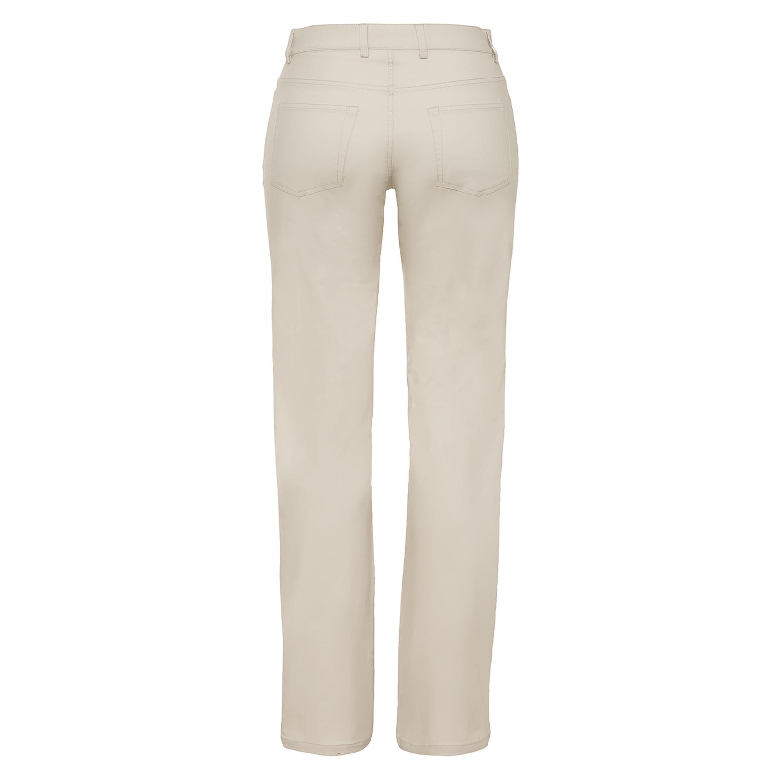 Damen Golfhose mit Extra Stretch Komfort aus Baumwoll-Mix in Slim Fit