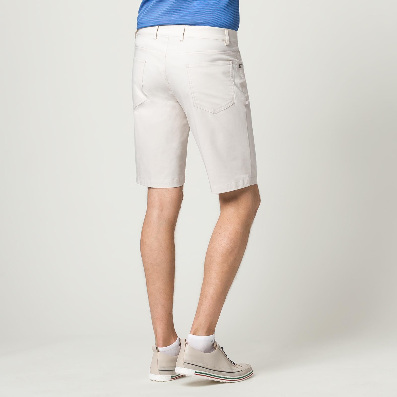 Herren Golf-Bermuda mit Extra Stretch Komfort im 5-Pocket-Stil und Slim Fit
