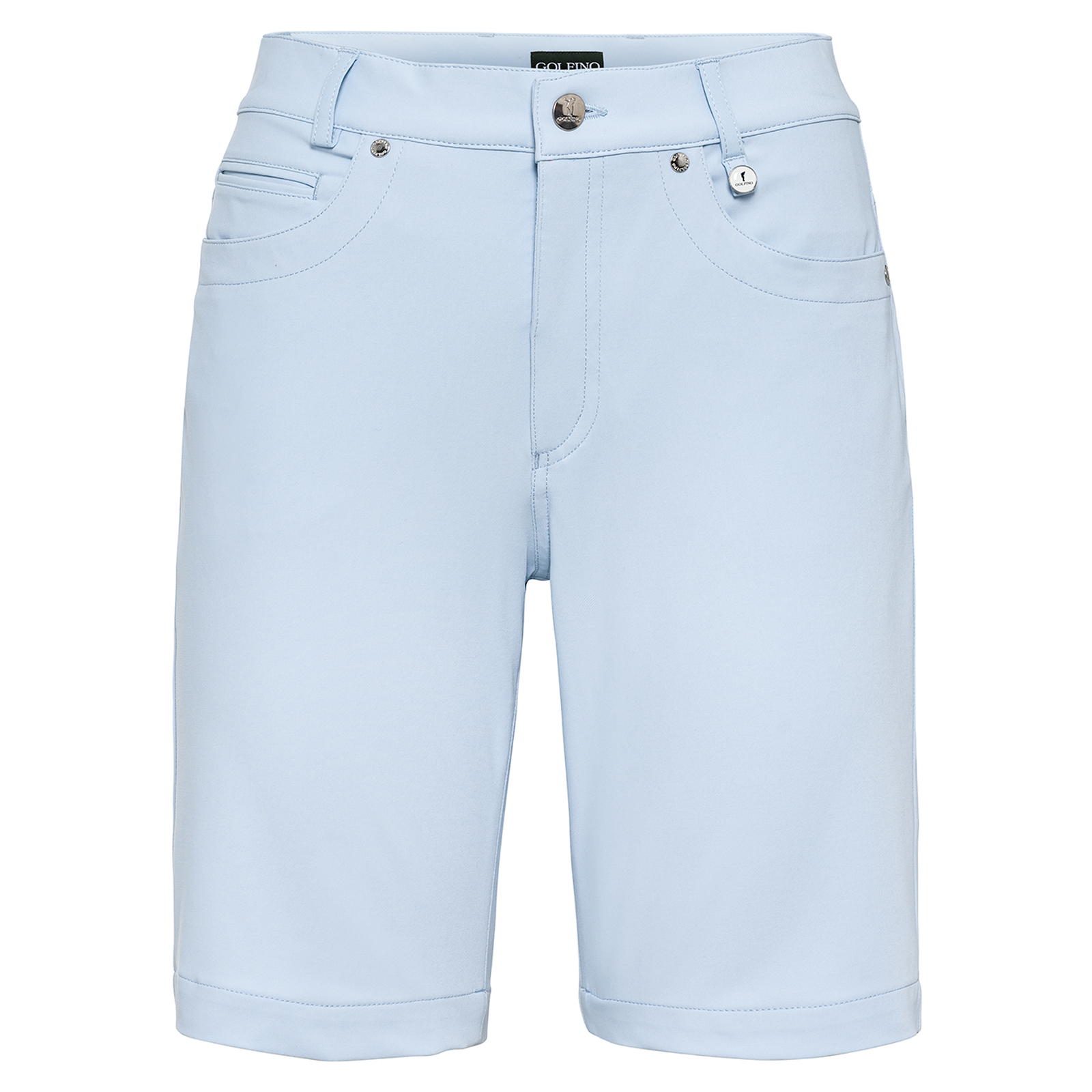 Damen Golf-Bermuda mit Stretch-Anteil
