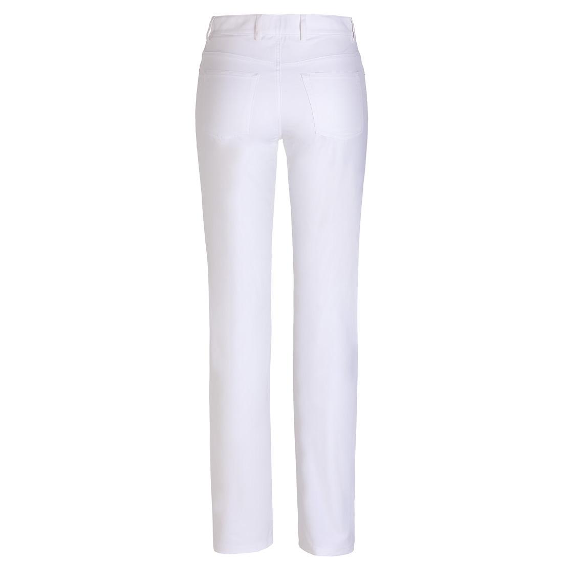 Damen Golfhose aus Stretch-Material mit Sonnenschutz-Funktion in Slim Fit