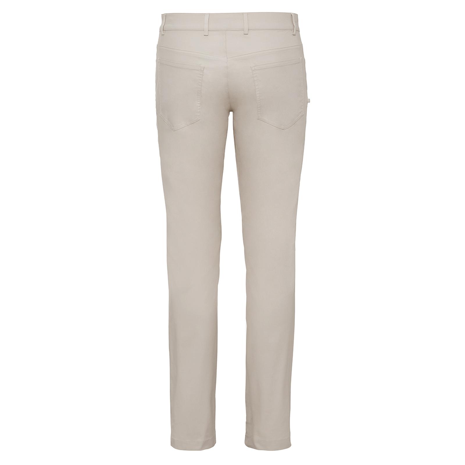 Herren Golfhose mit Sonnenschutz und Extra Stretch Komfort im 5-Pocket-Stil