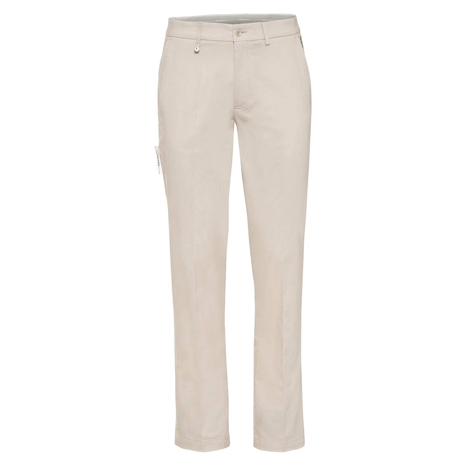 Herren Golfhose mit Extra Stretch Komfort aus Baumwoll-Mix