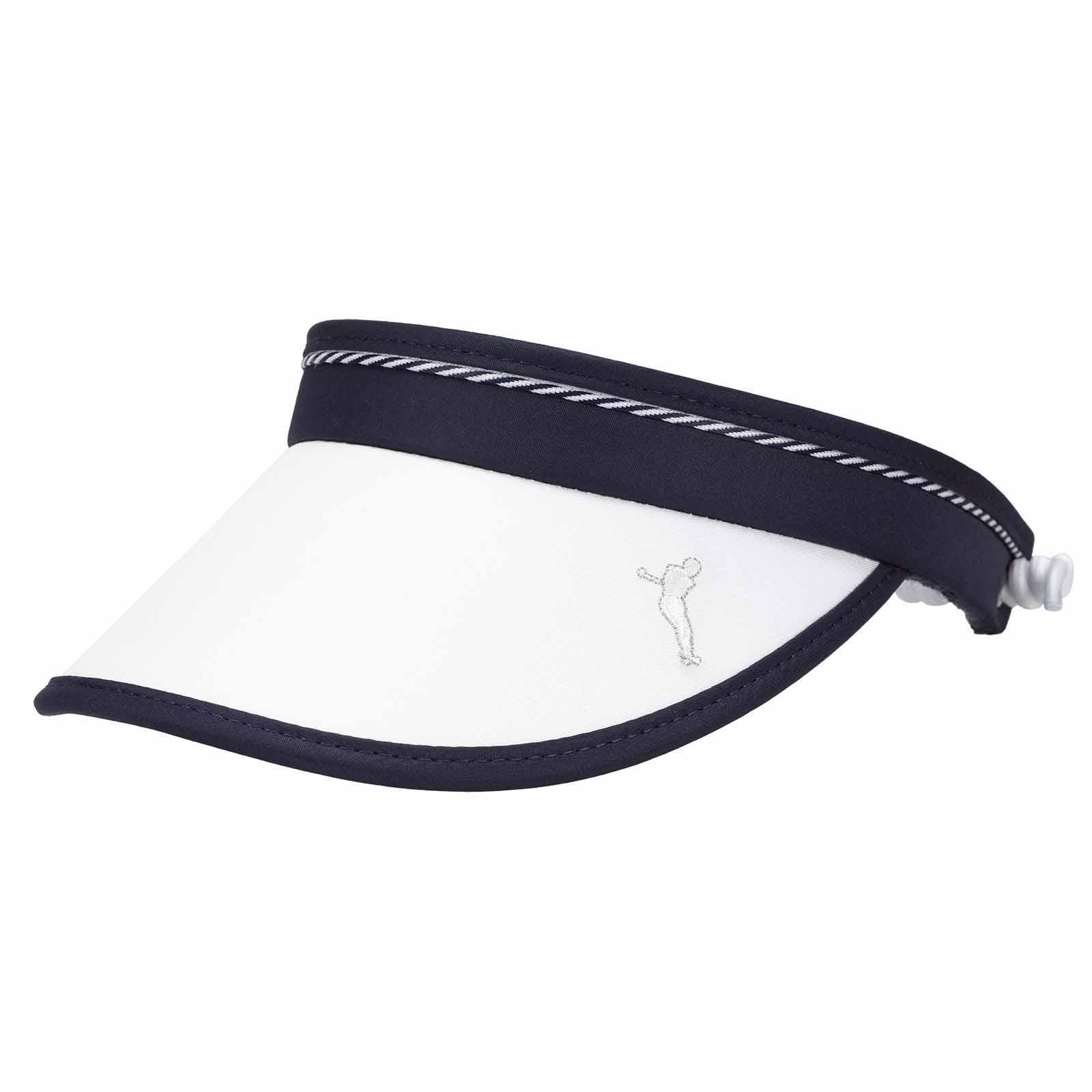 Damen Golf Cable Visor mit Sonnenschutz Funktion, gefüttert mit Frottee