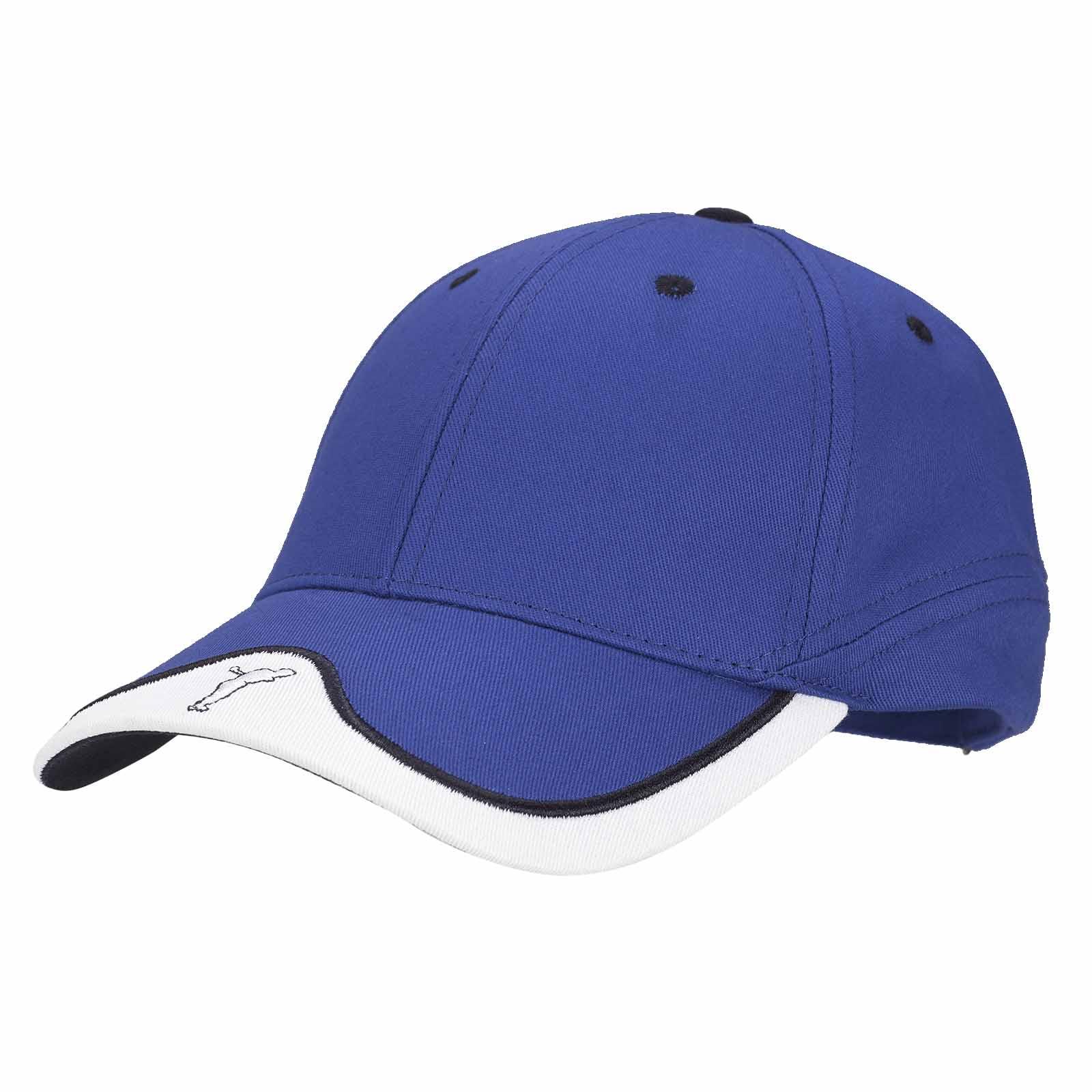 Herren Golfcap mit Stretchfunktion aus Baumwoll-Mix