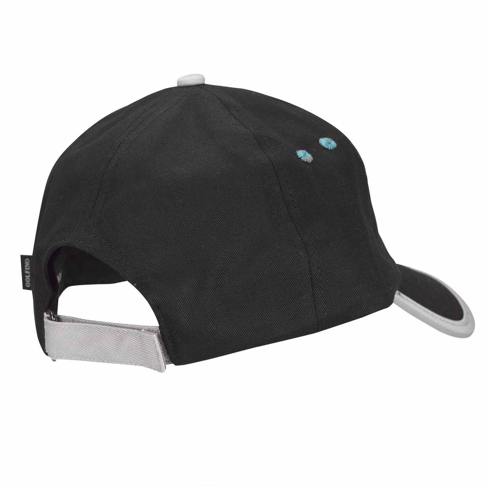 Herren Golfcap mit Extra Stretch Komfort aus Baumwoll-Mix