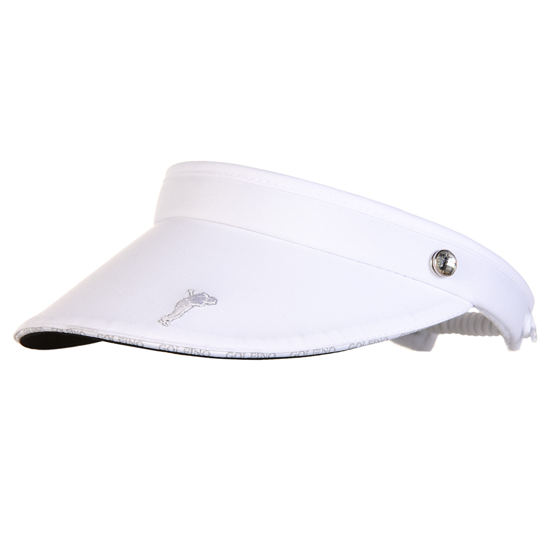 Ladies' golf visor