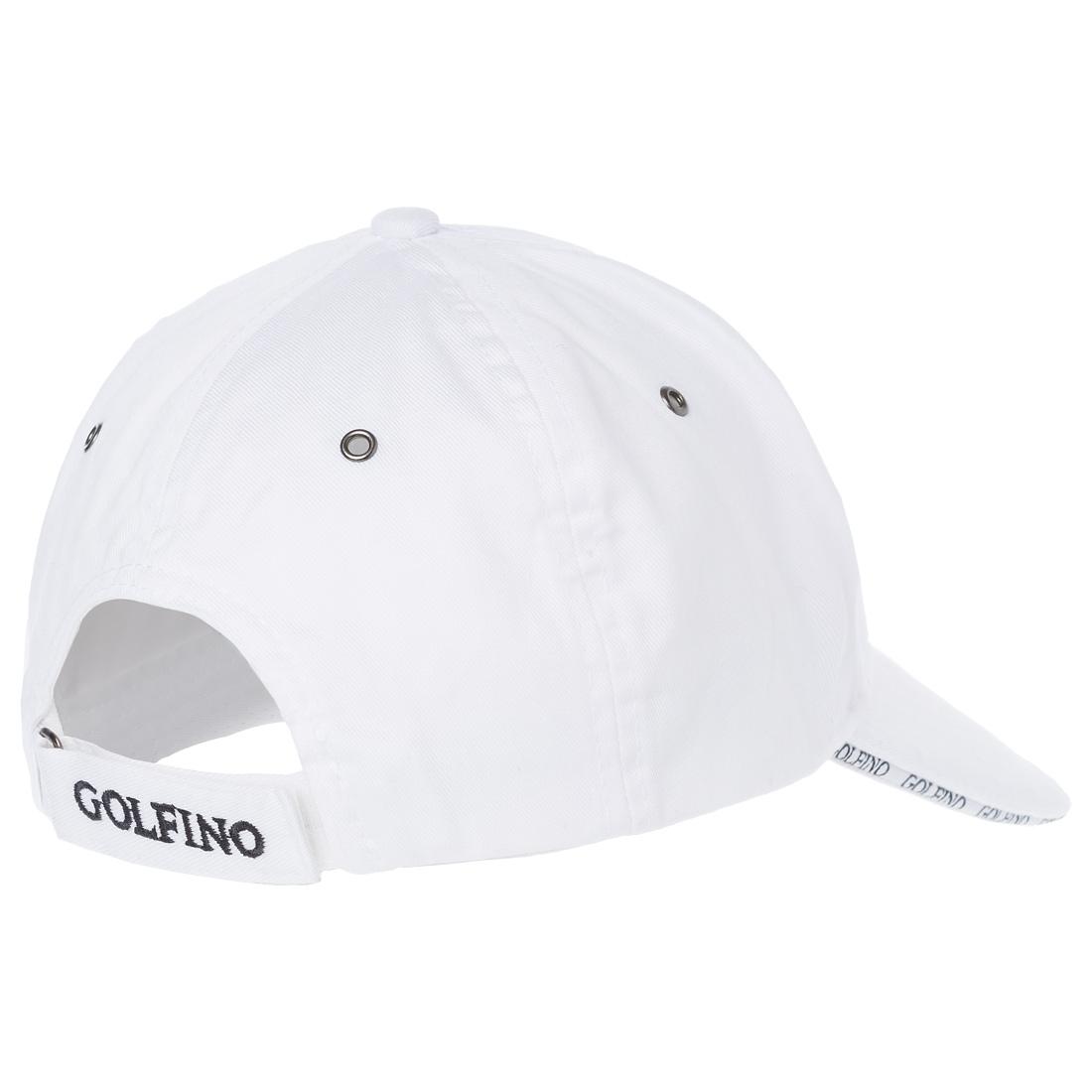 Herren Golfcap aus Baumwolle als verstellbares Onesize Modell