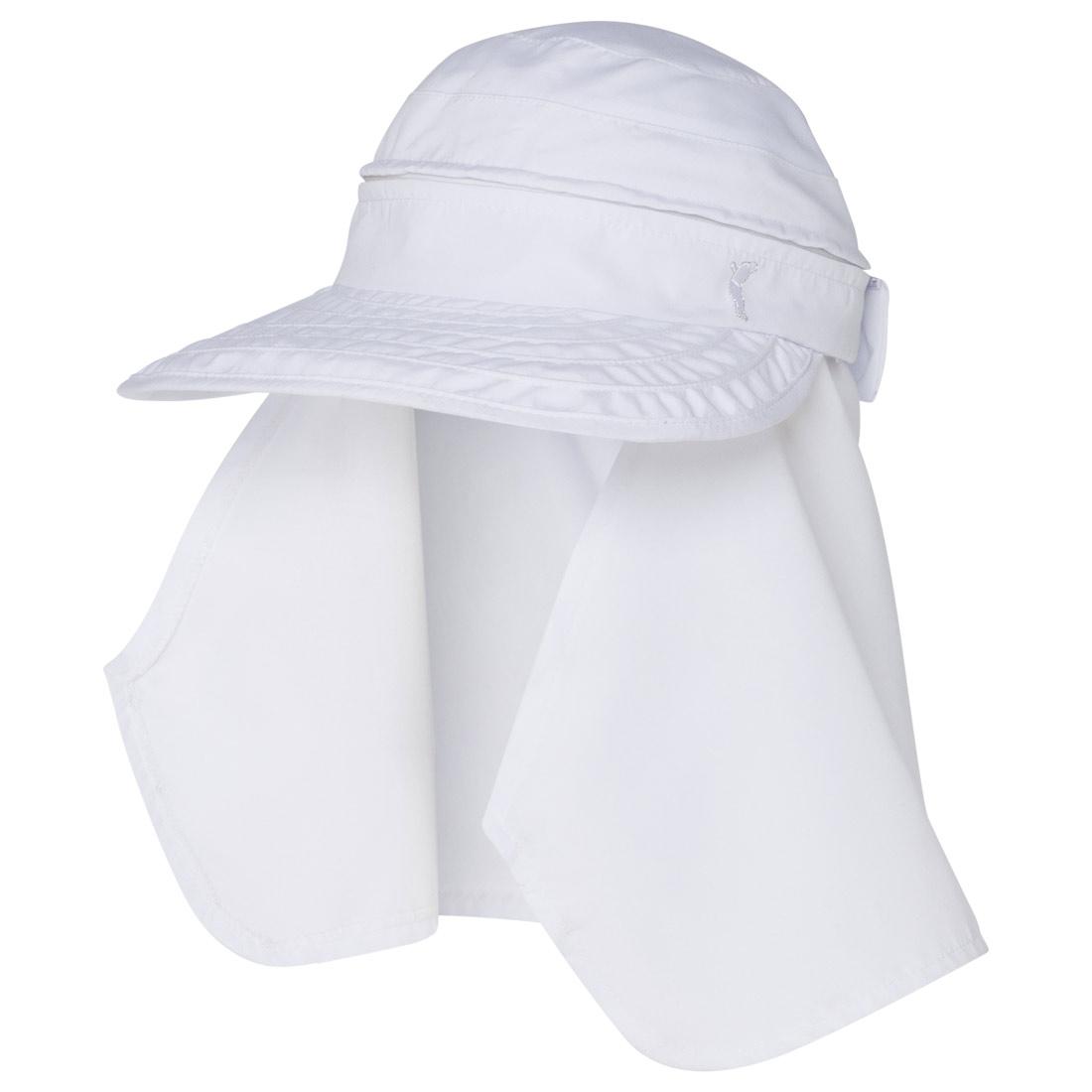 Damen Golfcap mit optionalem Nackenschutz