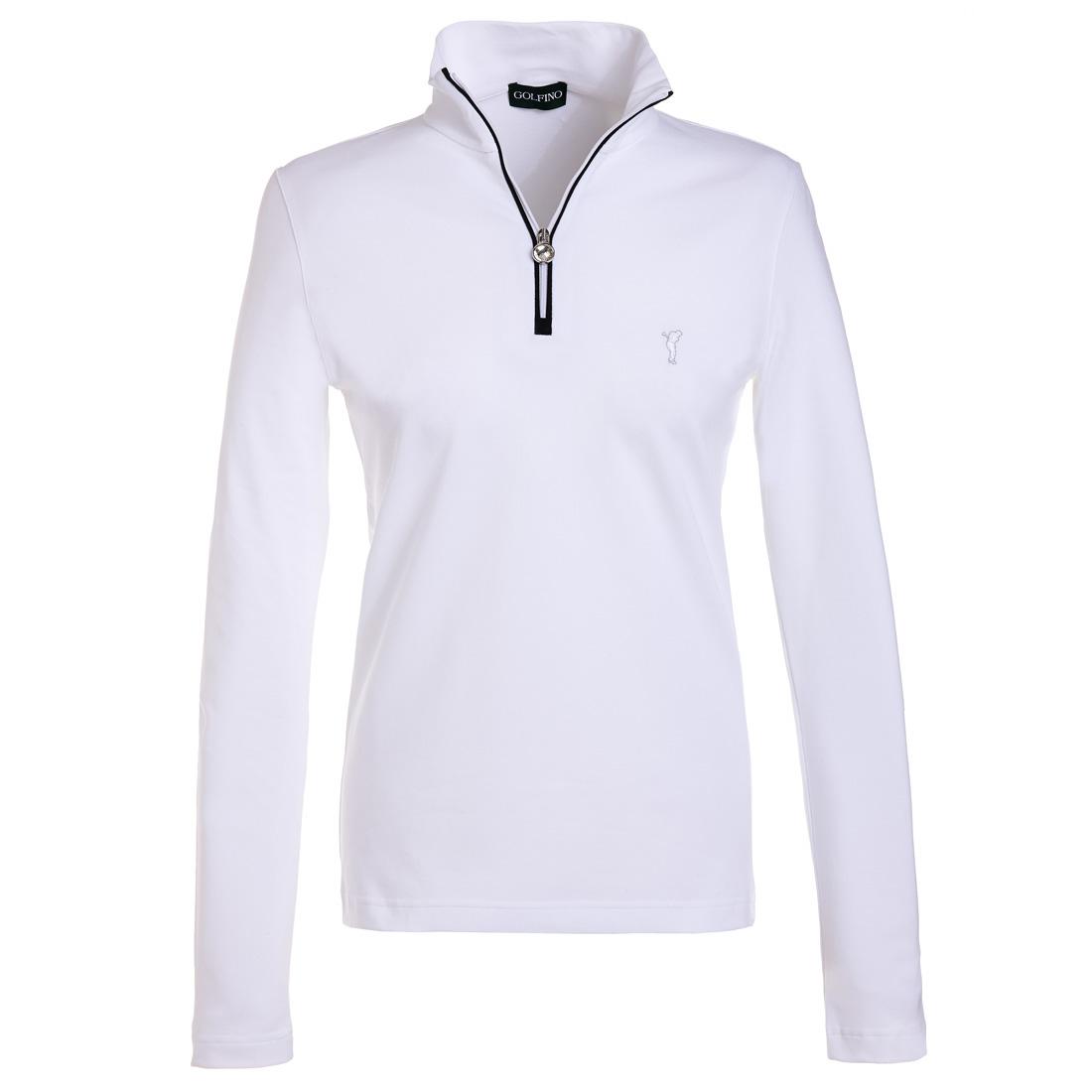 Troyer mit UV-Schutz Weiß