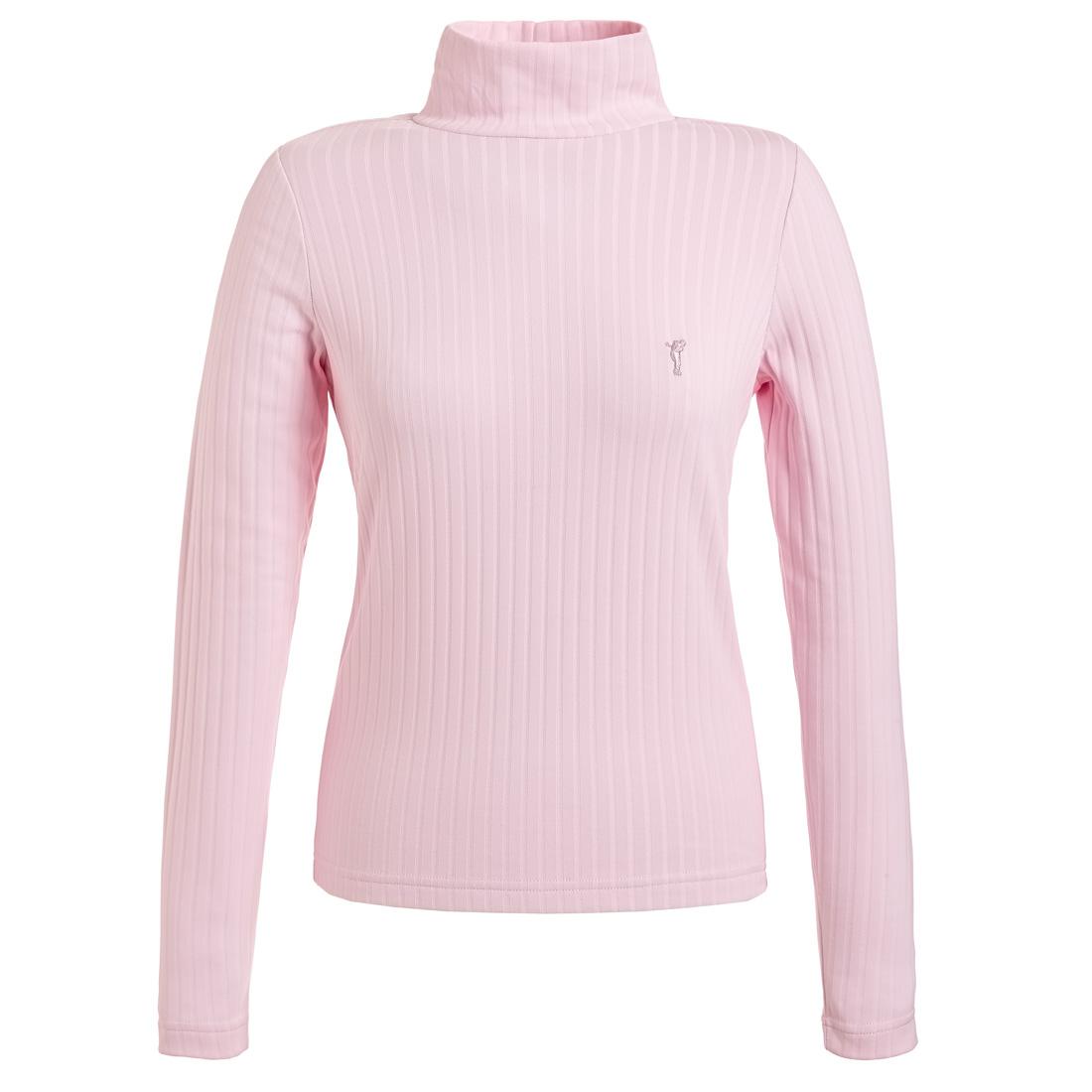 Dry Comfort Rollkragen Pullover Pink