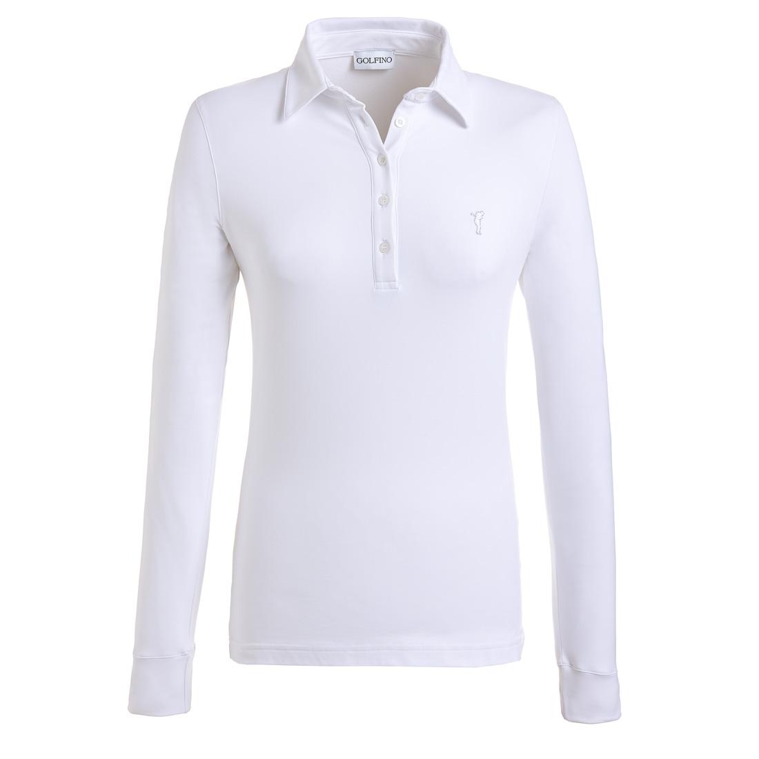 Dry Comfort Shirt (gebürstet) Weiß