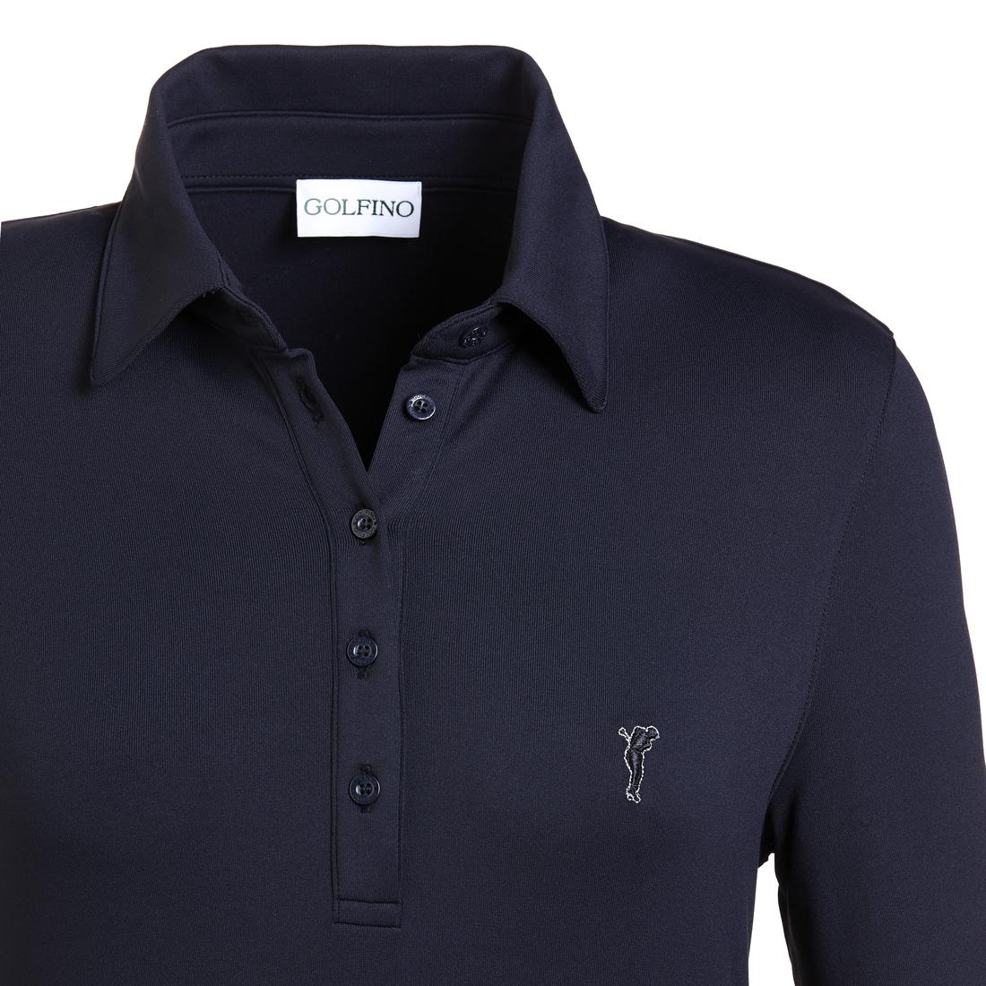 Dry Comfort Shirt (gebürstet) Blau