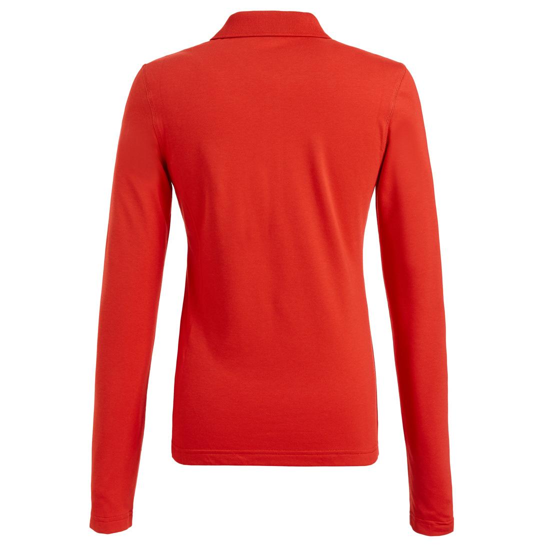 Poloshirt mit Sonnenschutz Rot