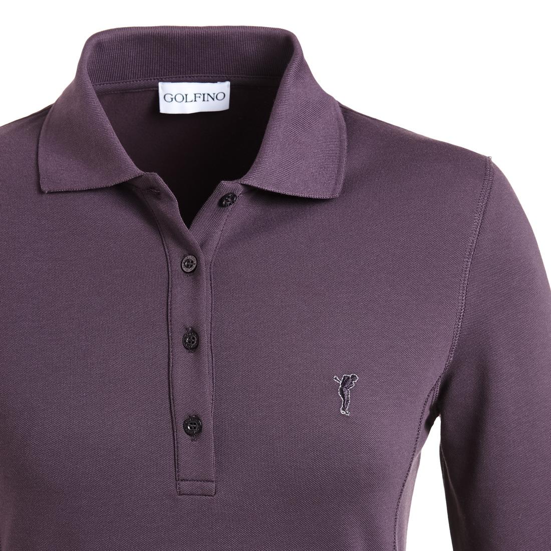 Poloshirt mit Sonnenschutz Violet
