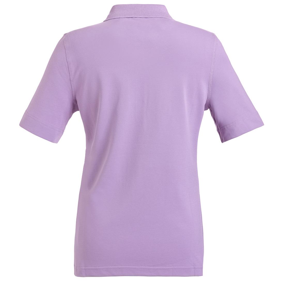 Kurzarm Poloshirt mit Sonnenschutz Violet