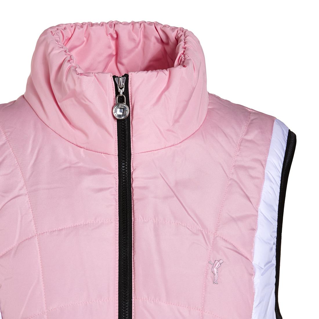 Steppweste Pink