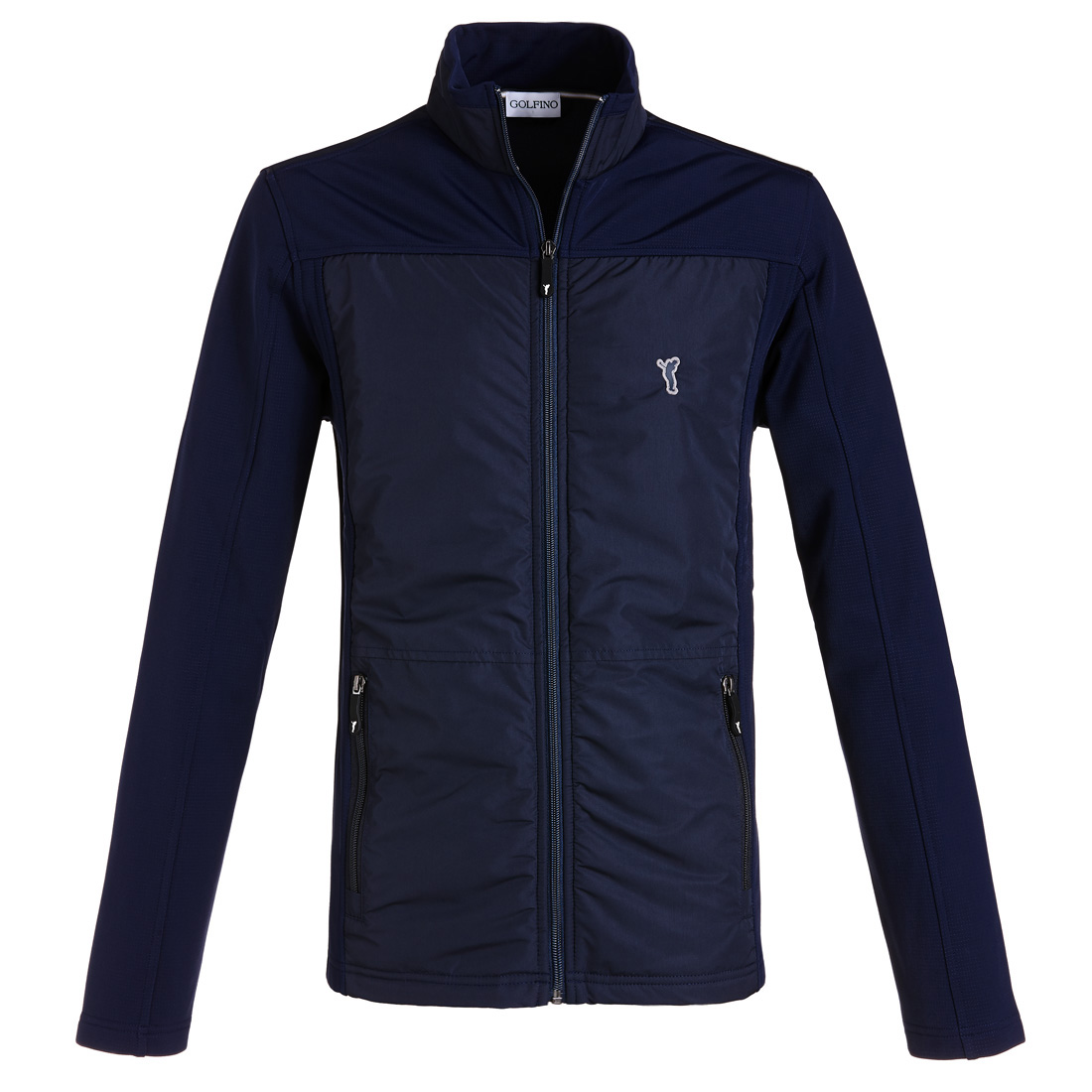 Mikrofaser Fleece Jacke Navy