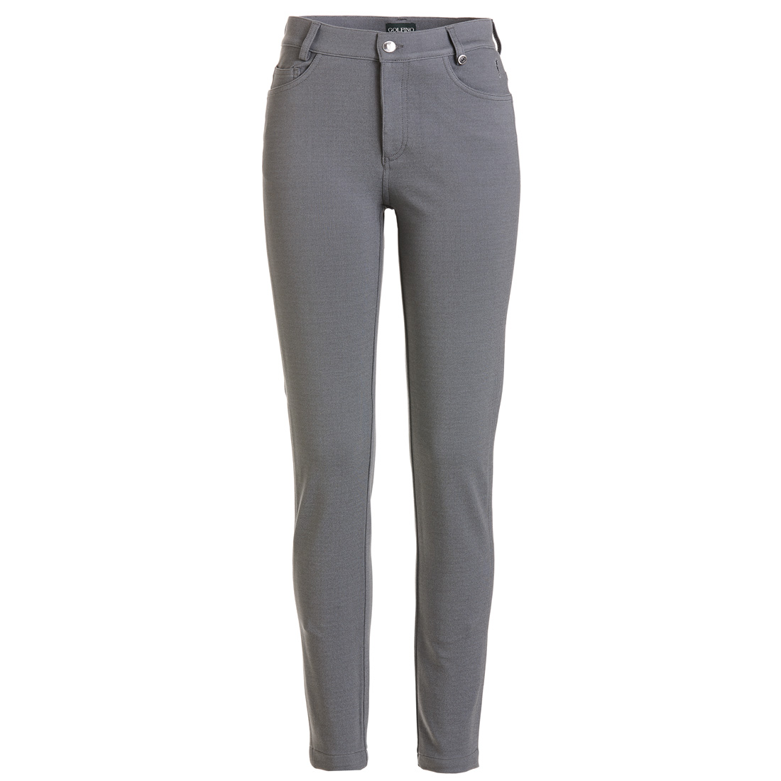 5-Pocket Stretch Hose Grau