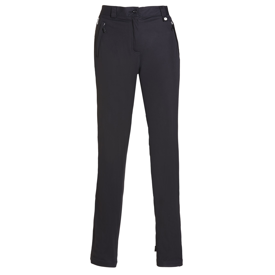 Waterproof stretch trousers Black