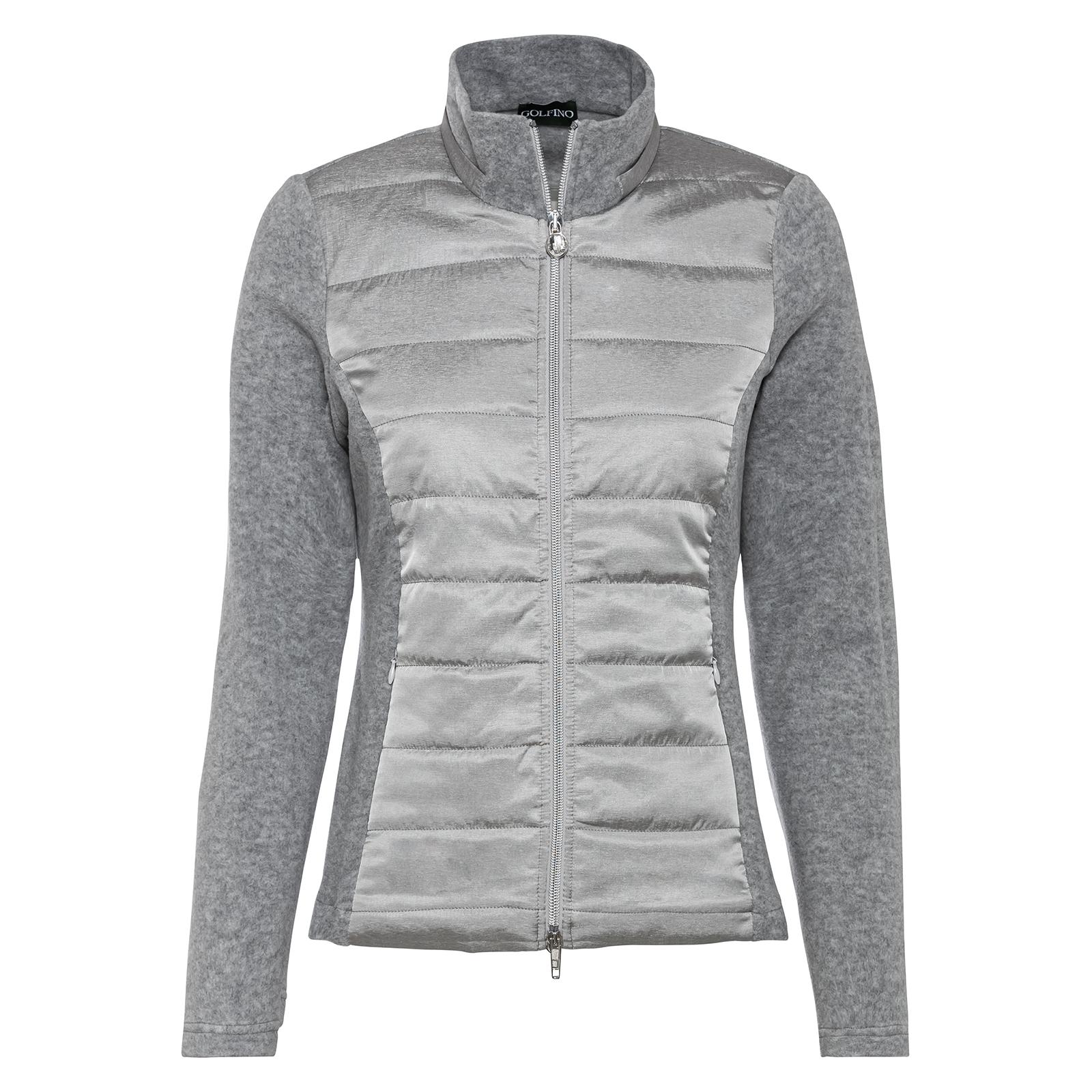 Wärmende Damenjacke mit Reißverschlusstaschen