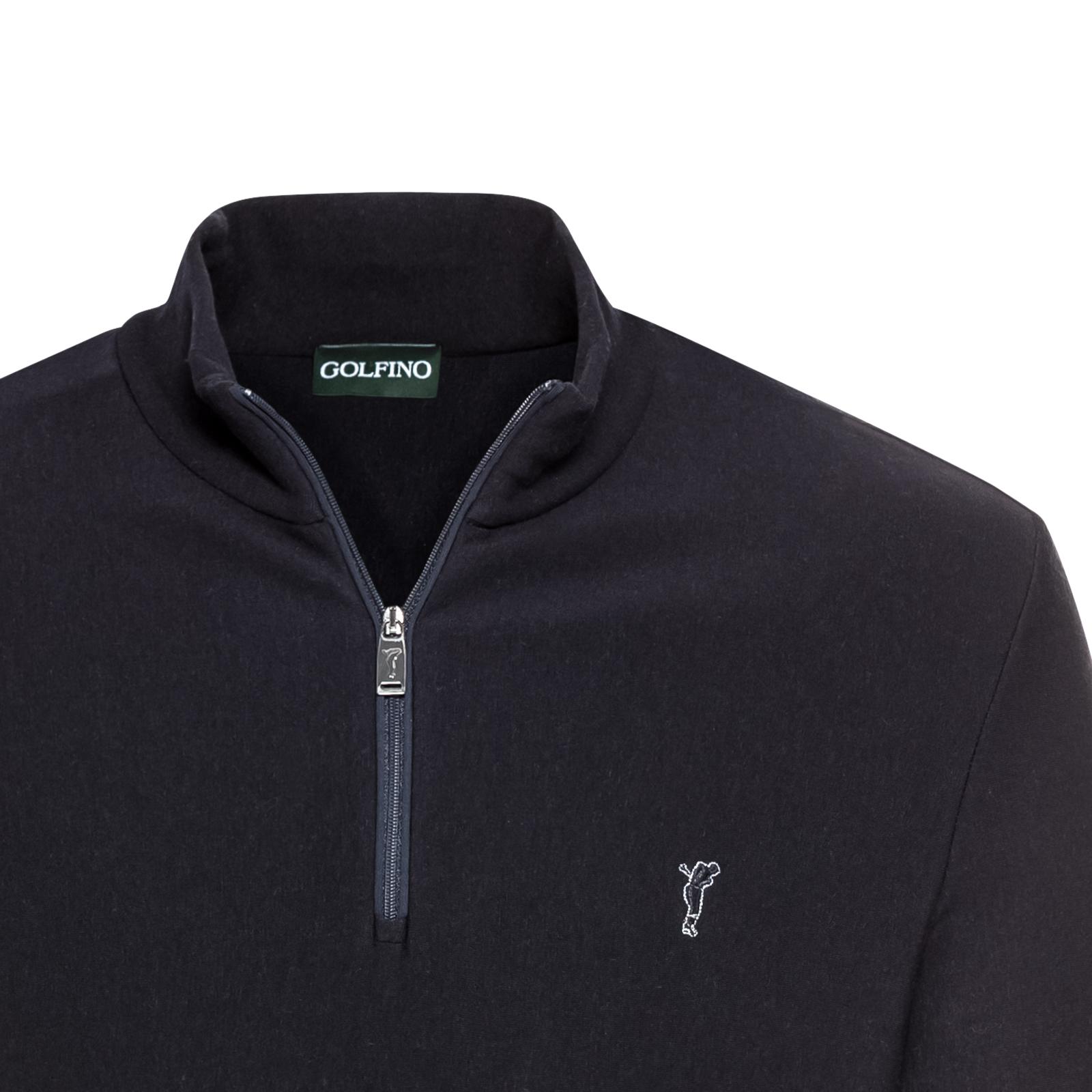 Herren Golf Sweater mit Tencel-Anteil