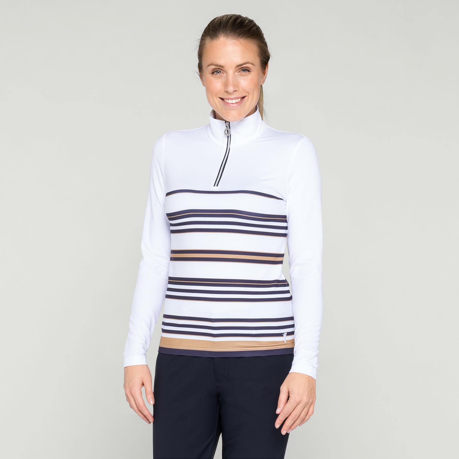 Besonders warmes Damen Longsleeve Polo