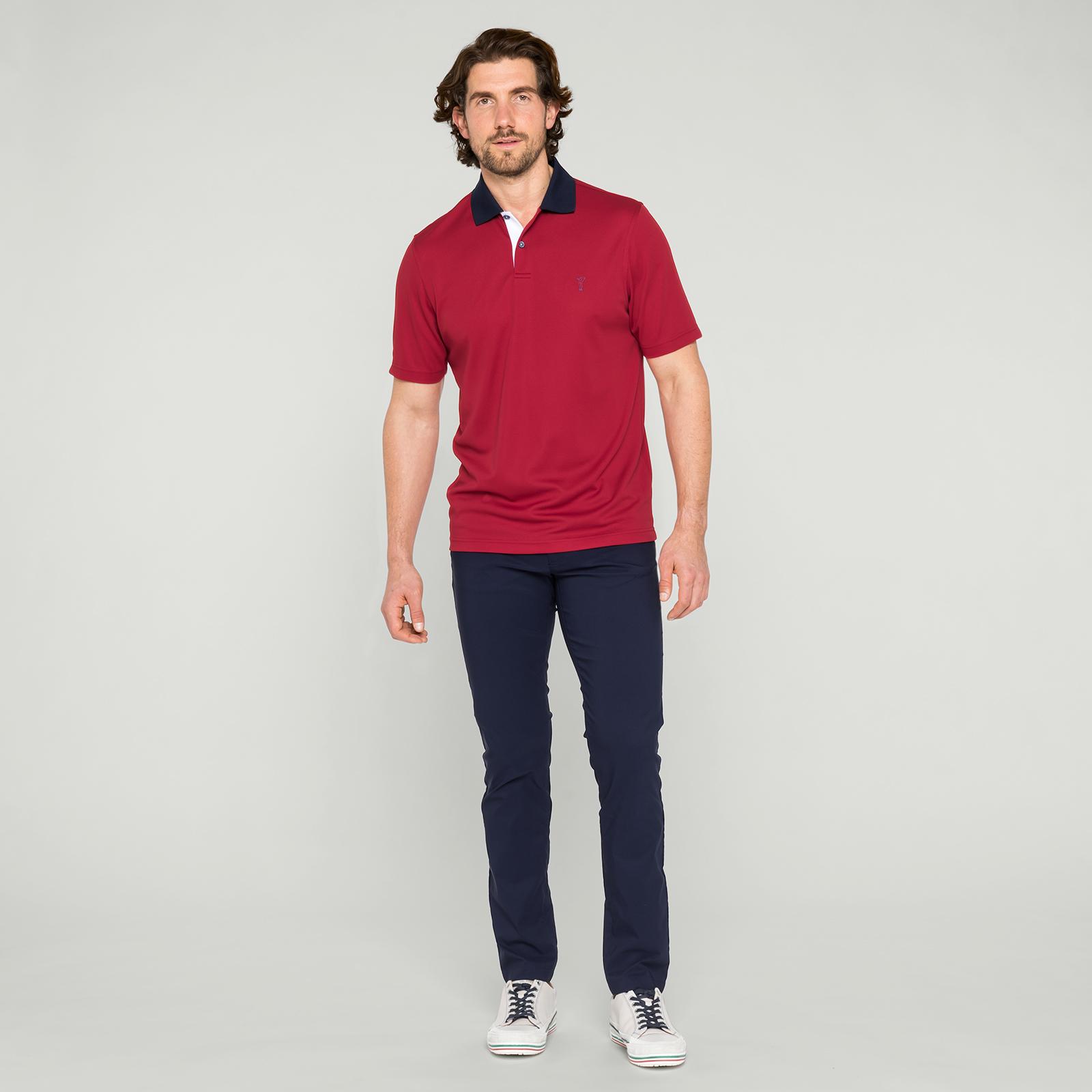 Beständiges Herren Golf Polohemd