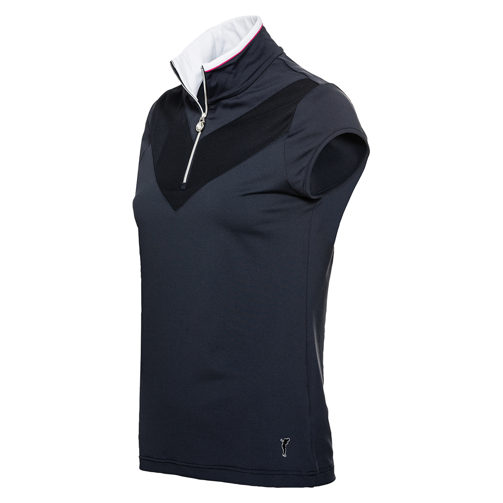 Damen Golf Polo mit Flügelärmel