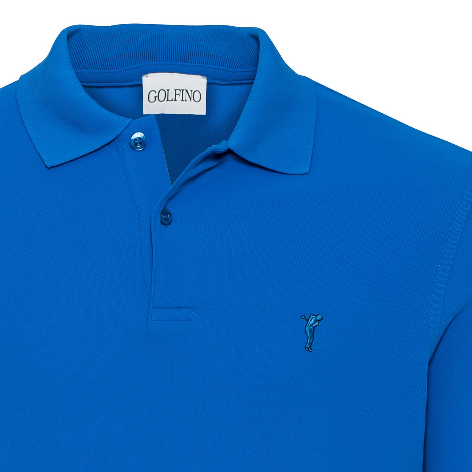Klassisches Herren Langarm Golf Polo