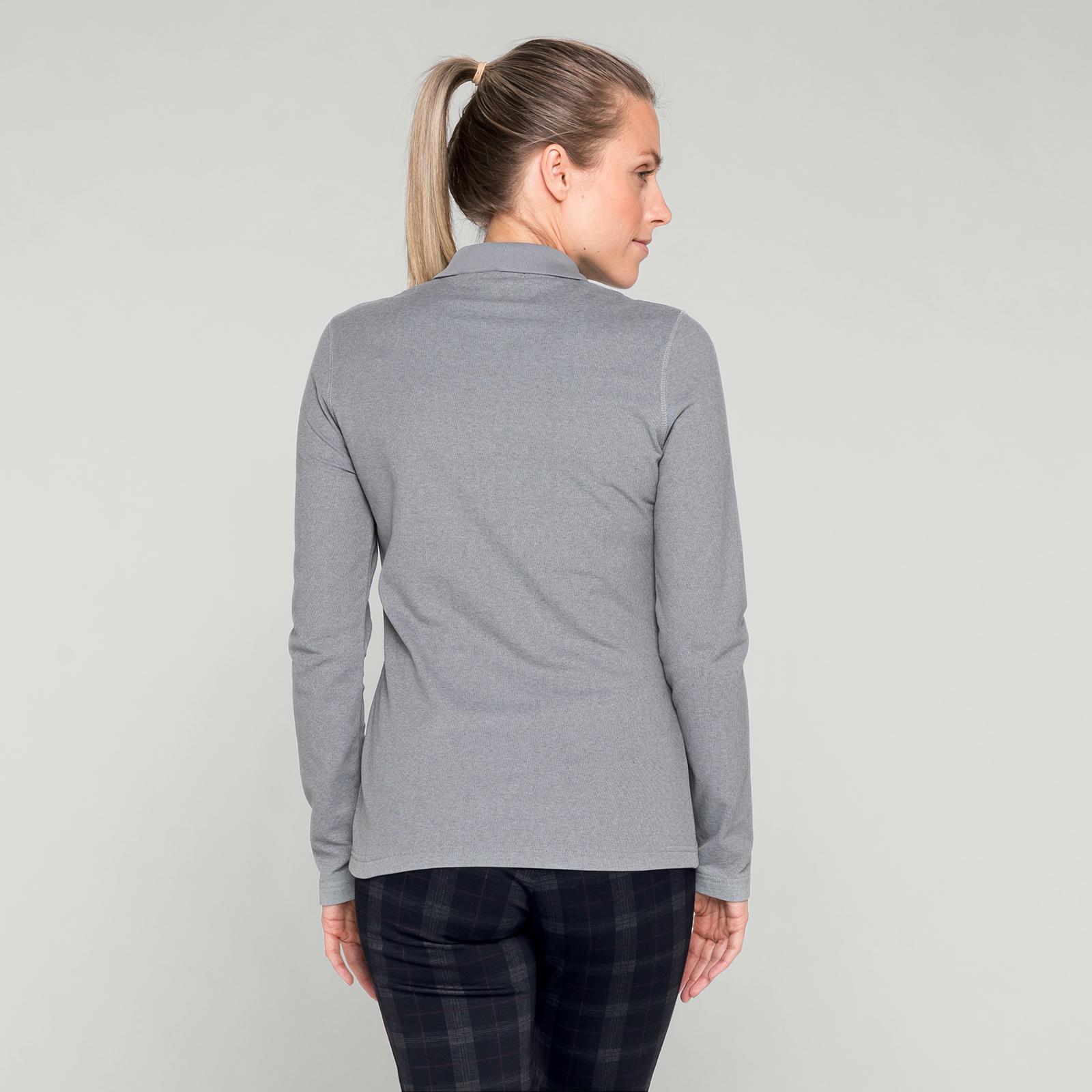 Damen Langarm Polo mit UV-Schutz