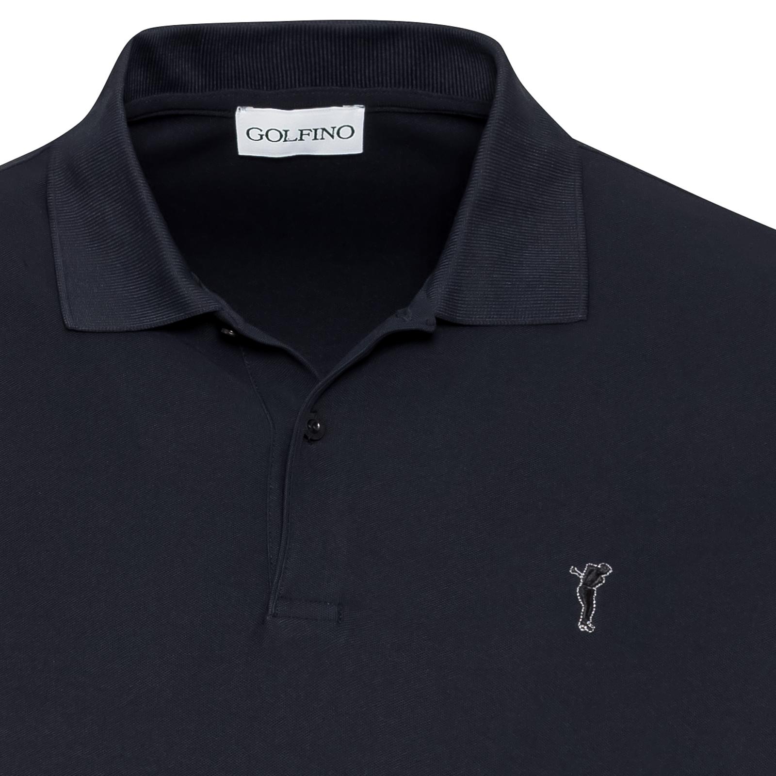 Golf Polo aus feuchtigkeitsregulierendem Stoff