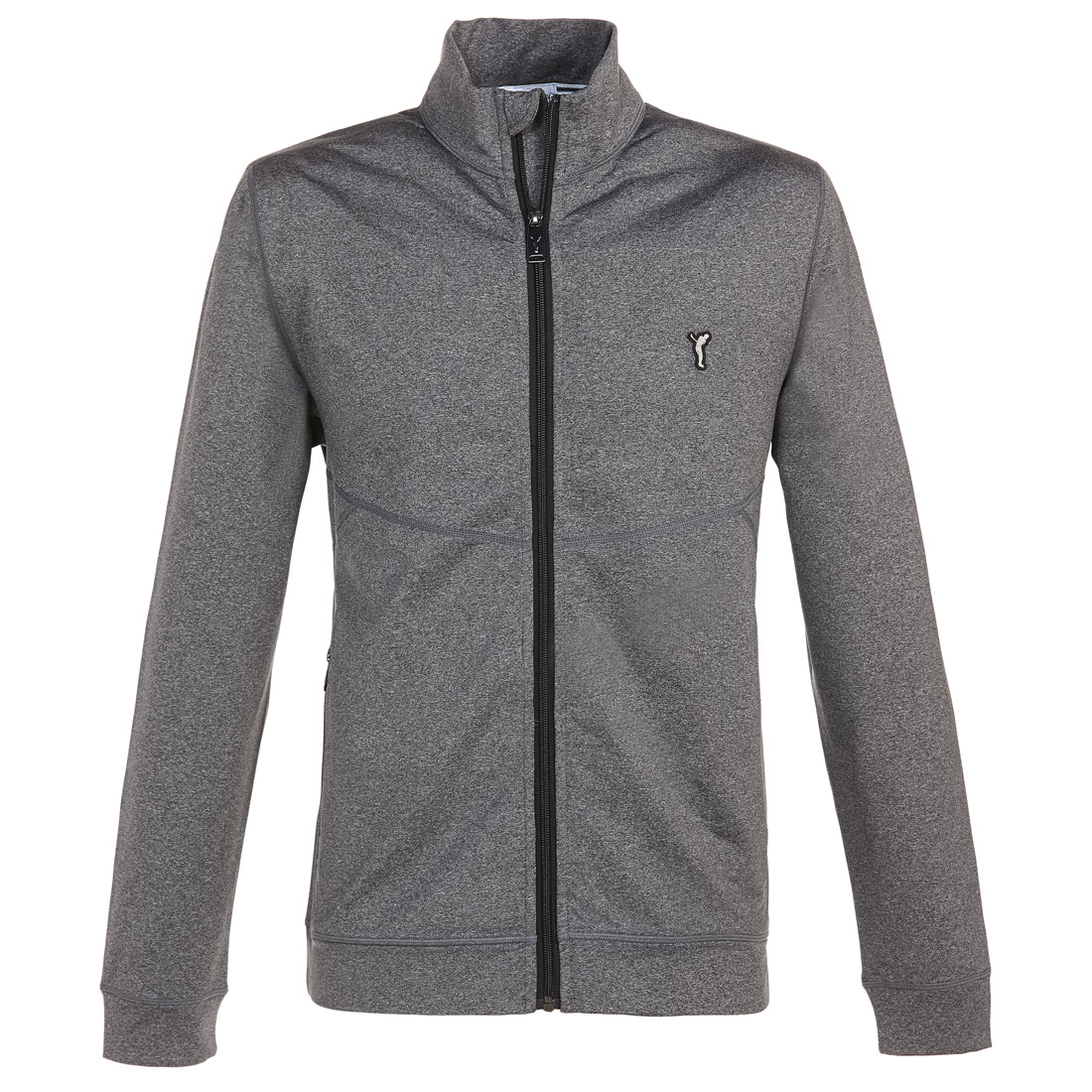 Golf-Fleecejacke mit Techno Stretch in Regular Fit
