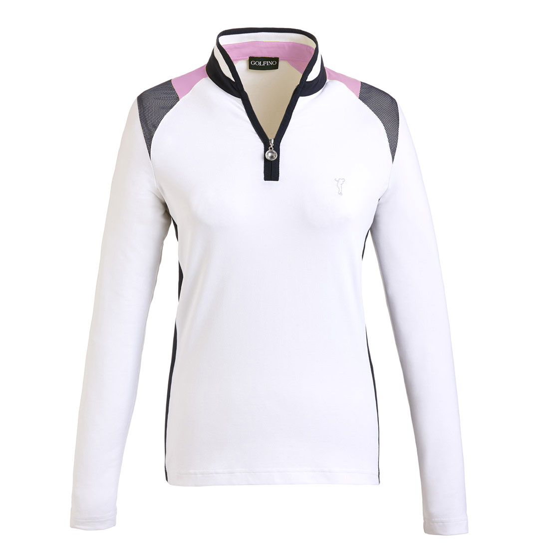 Damen Funktions-Golftroyer Longsleeve in Slim Fit