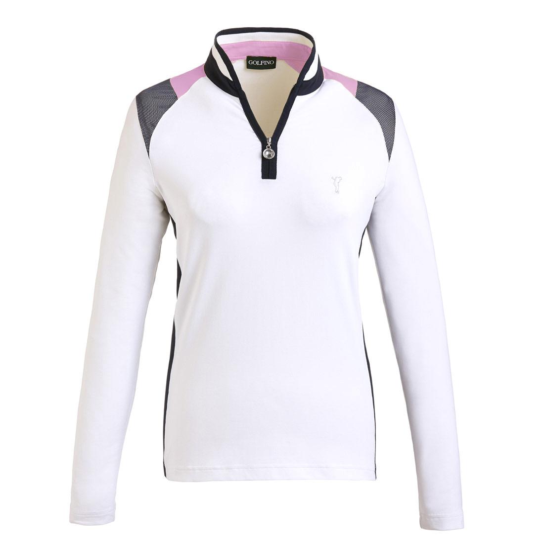 Damen Funktions-Golftroyer Longsleeve in Slim Fit