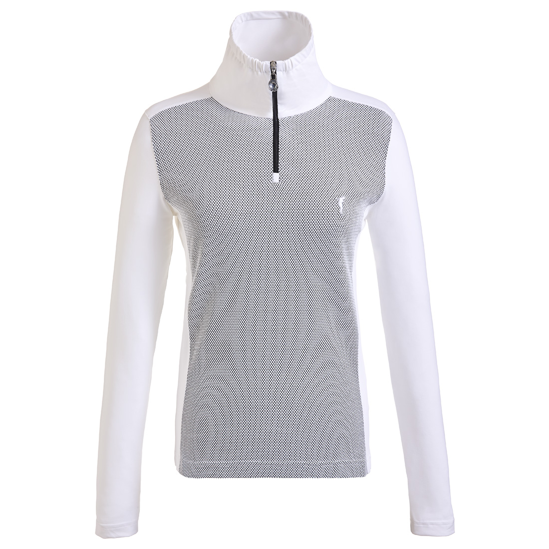 Damen langarm Funktions-Golftroyer in Regular Fit
