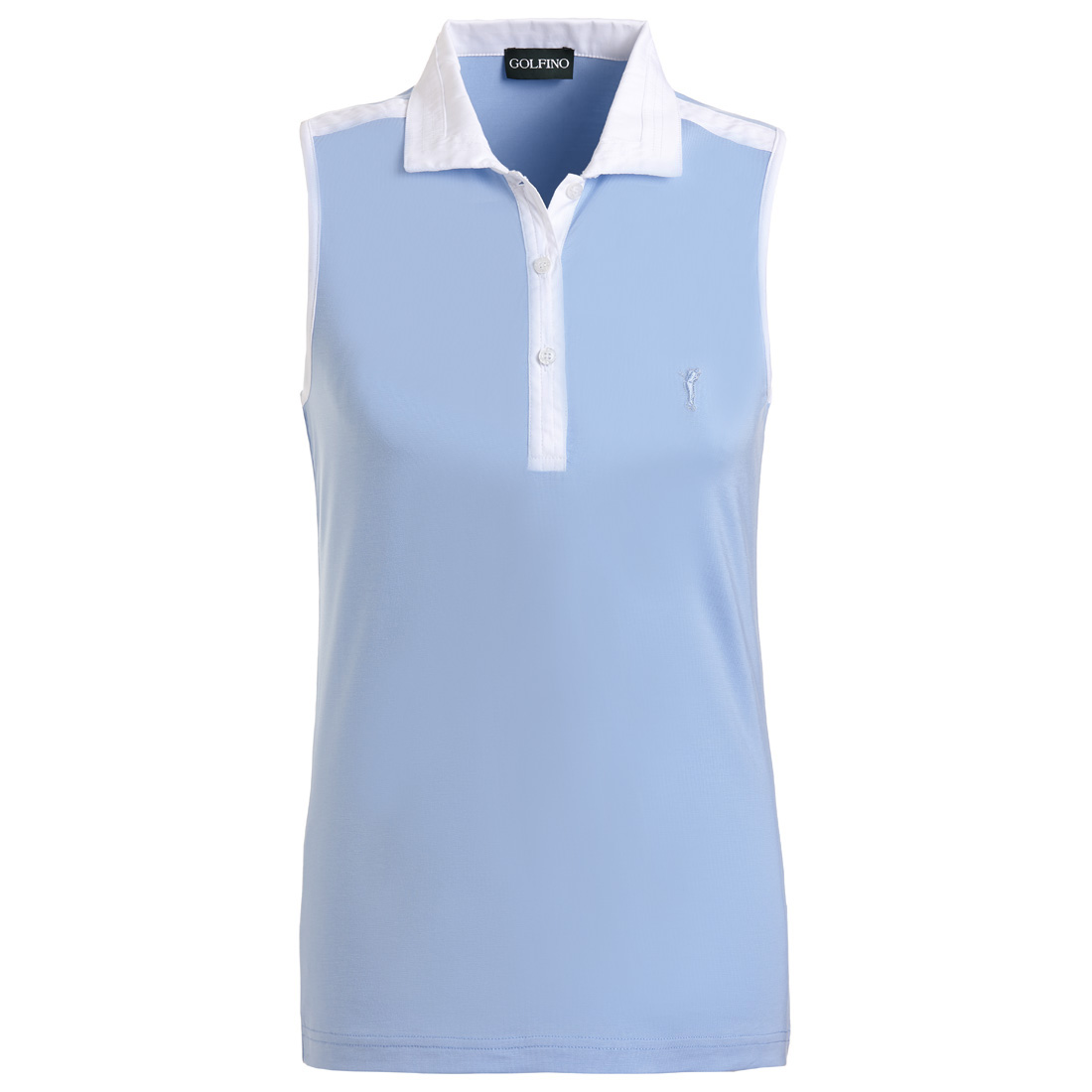 Damen Funktions-Golfpolo mit Moisture-Management aus softem Stretch