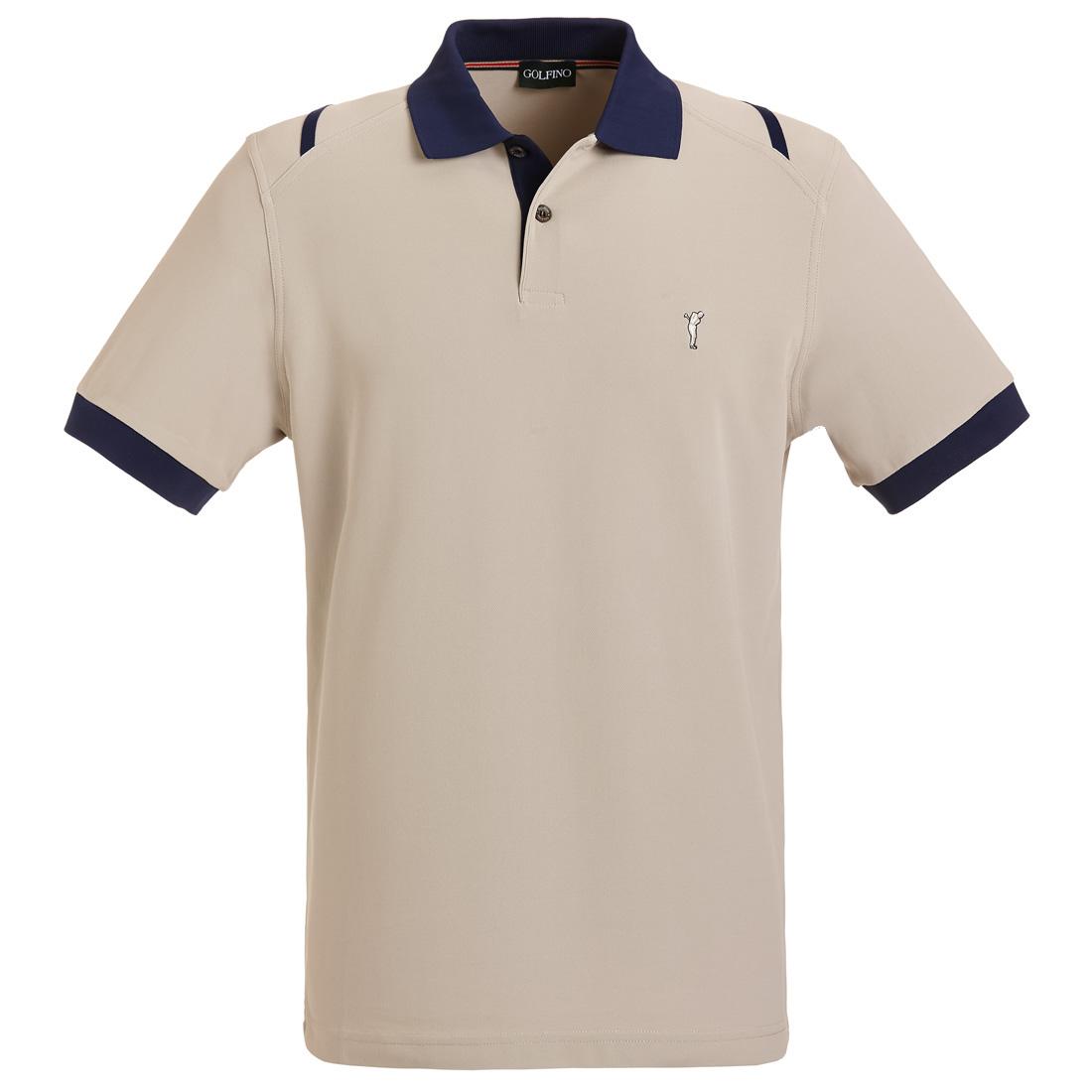 Professionelles Herren Golfpolo mit Moisture Management