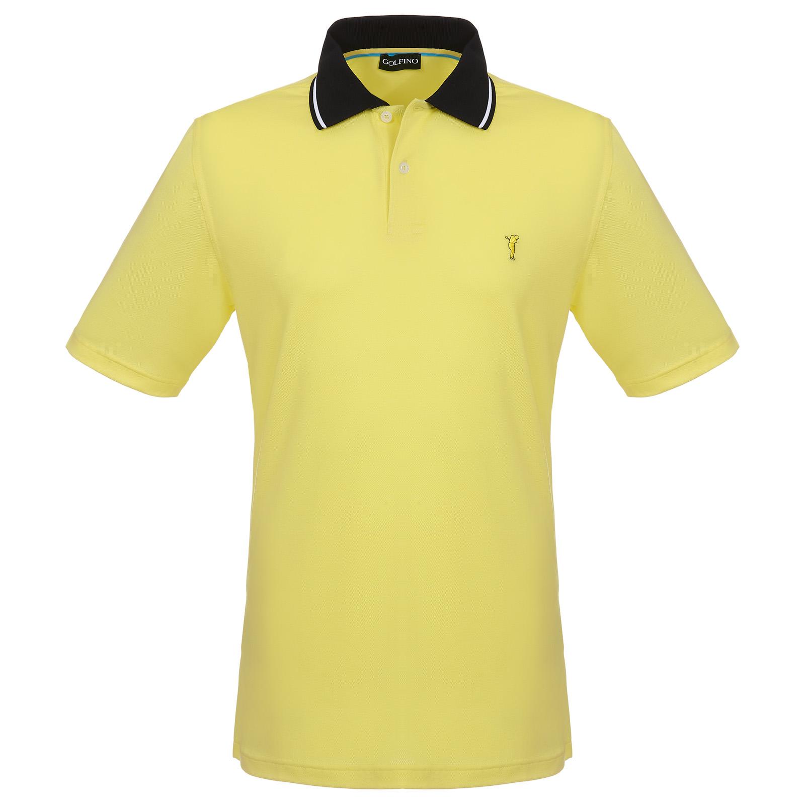 Herren Kurzarm Golf-Piqué mit Stretchfunktion