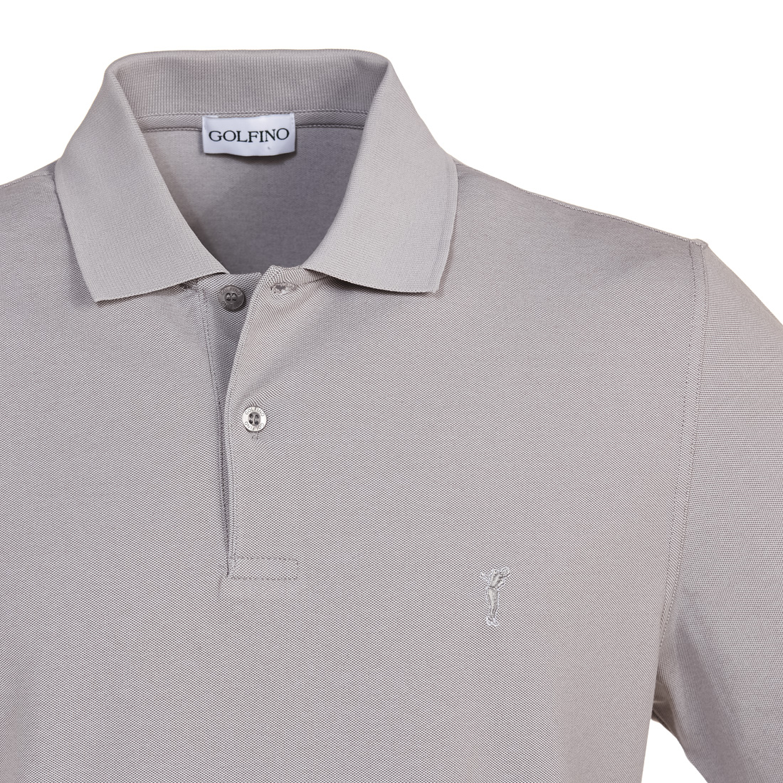 Halbarm Golfpolo mit UV-Schutz in Relaxed Fit