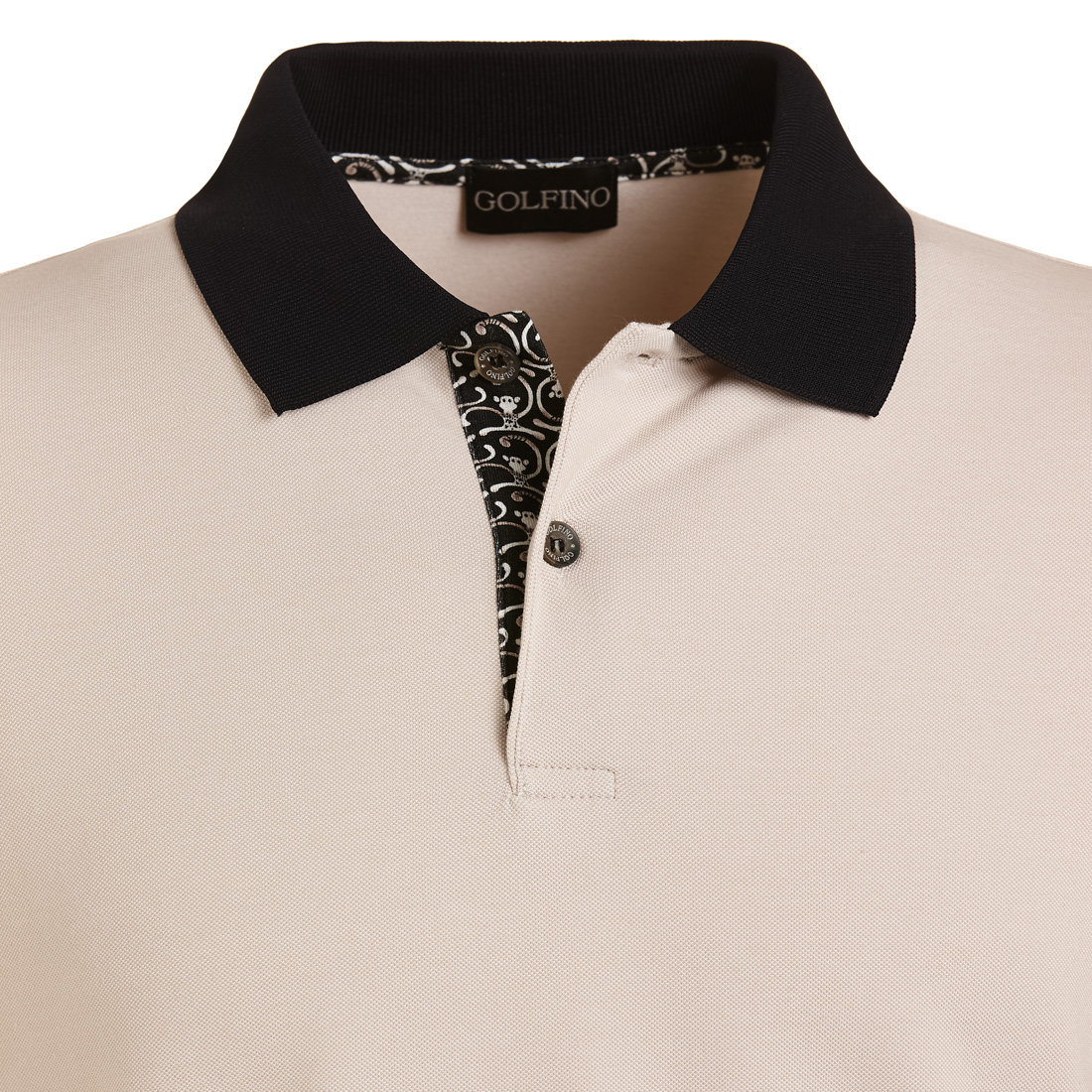 Herren Golfpolo in Regular Fit mit Sun Protection
