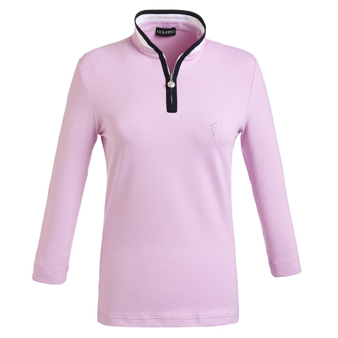 Damen 3/4-Arm Funktions-Golfpolo Slim Fit