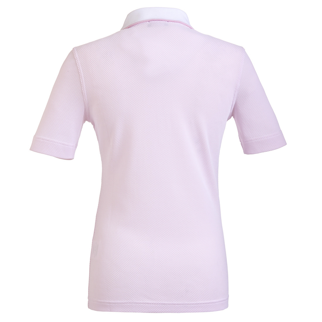 Damen Funktions-Golfpoloshirt in Regular Fit aus hochwertigem Bubble Jacquard