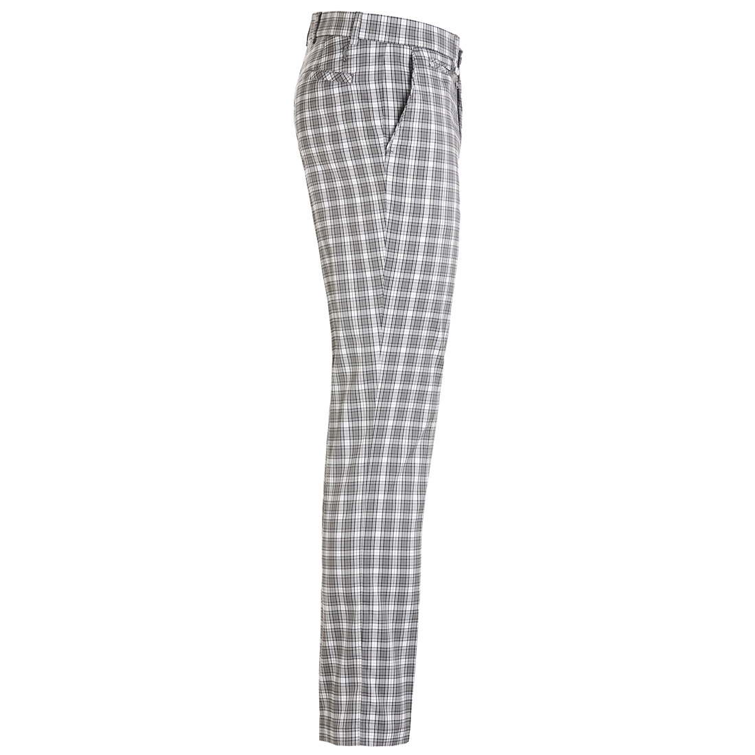 Karo Golfhose in Regular Fit, wasserabweisend