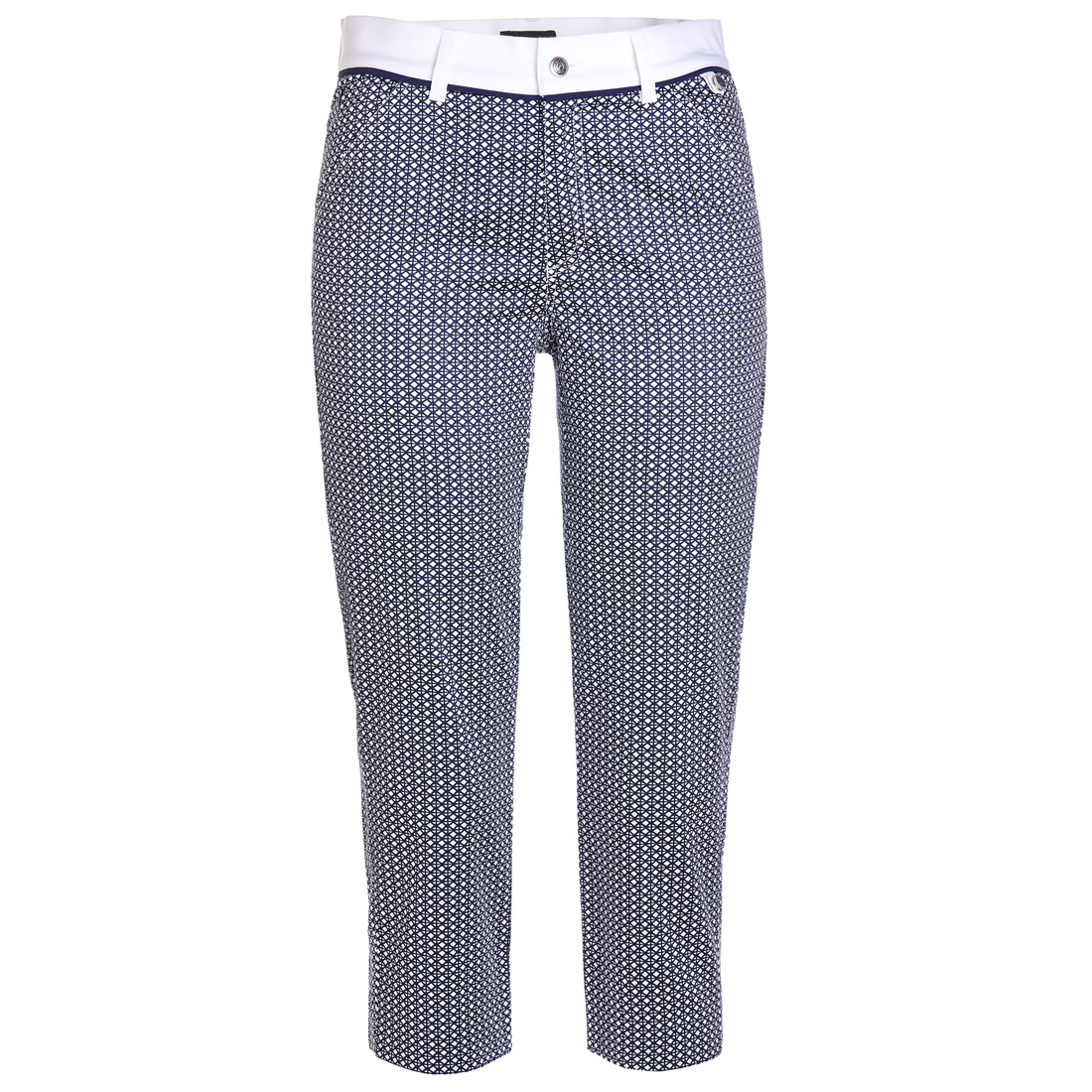 Golf Caprihose in Slim Fit