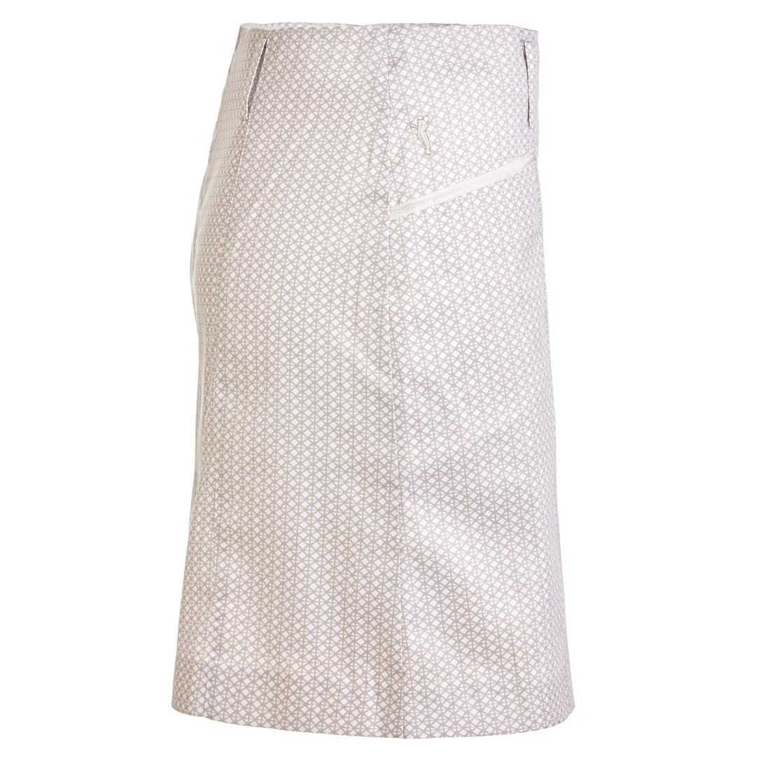 Stretch Golfskort mit modischem Allover-Print in Regular Fit