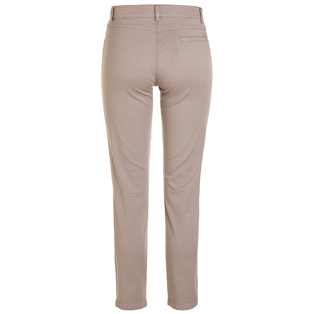 Slim Fit Damen Golfhose mit Allover-Print und hohem Baumwollanteil