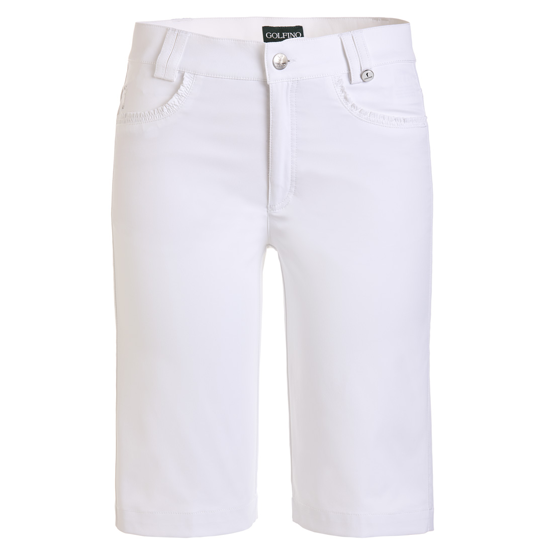 Damen Golfbermuda Sun Protection Techno Stretch Slim Fit
