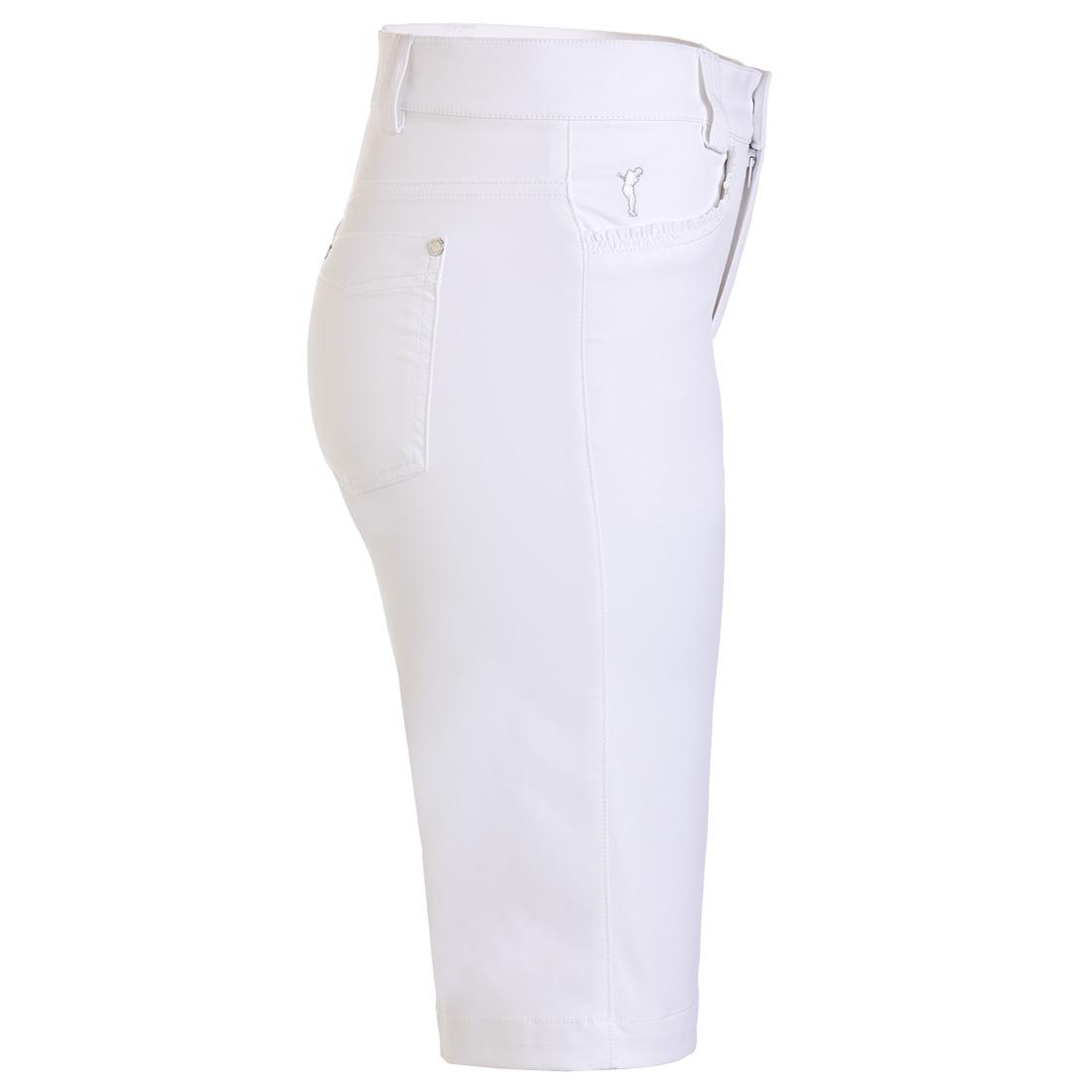 Damen Golfbermuda Sun Protection Techno Stretch Slim Fit