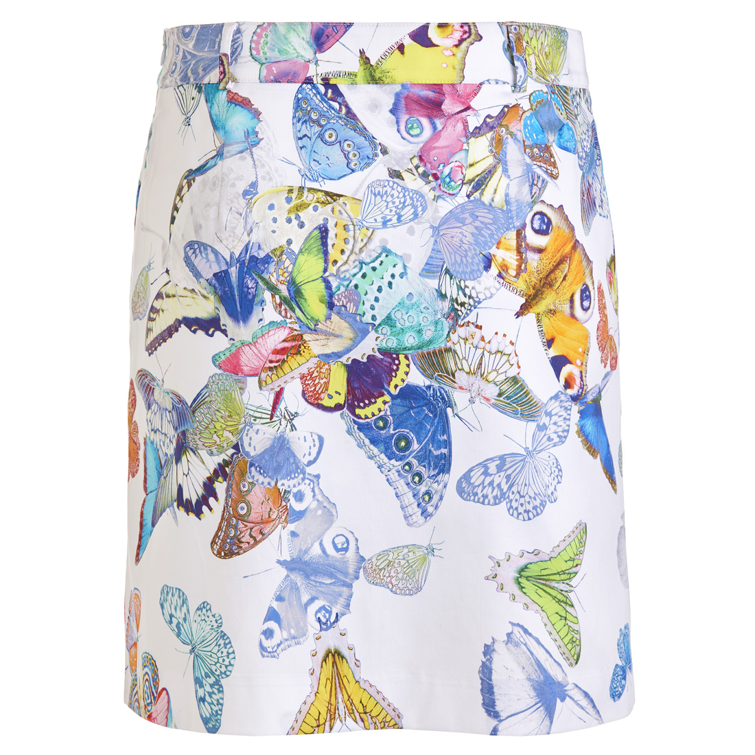 Golfrock Butterfly-Print mit Stretch-Funktion