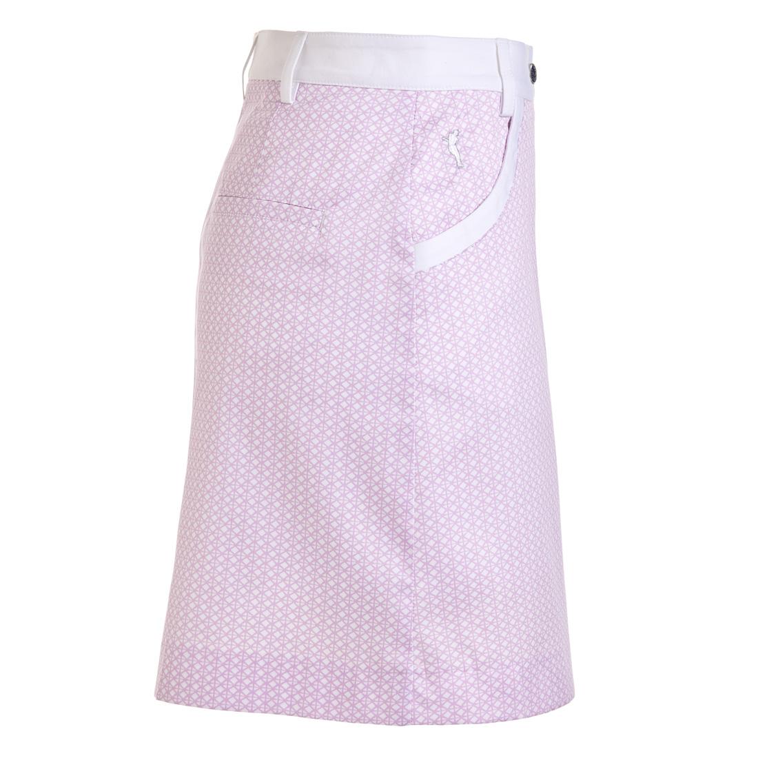 Golfrock mit modischem Allover-Print in Regular Fit